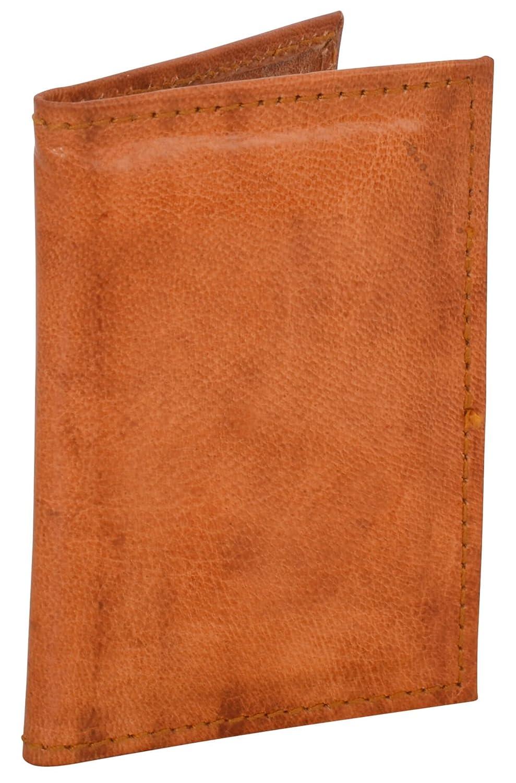 Gusti Leder nature ''Jan'' Lederumschlag Kartenhülle Visitenkartenhülle Kartenhülle EC-Karten-Hülle Umschlag Ausweishülle Schutzhülle Ziegenleder Retro Vintage Leder A133b