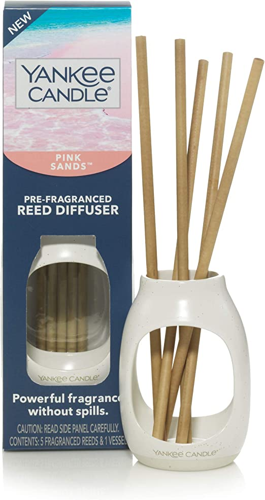 Yankee Candle Pre-Fragranced Clean Cotton Reed Diffuser