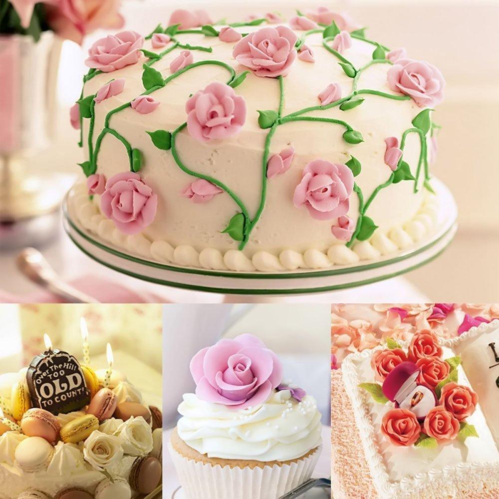 Dealglad® 5 Pcs Stainless Steel Cake Decorating Nails Cake Flower Needle Cupcake Icing Cream Decorating Tools DealgladUK