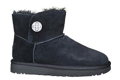 ugg mini turnlock bling black 1098354w amazon co uk shoes bags rh amazon co uk