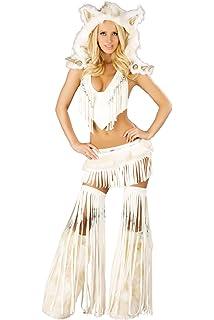 bbd5166b5838 Amazon.com: J. Valentine Women's Frisky Costume Skirt and Corset ...