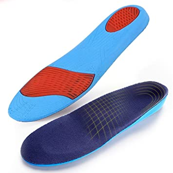Shock-absorption Sports Pads Insole Breathable Non-slip Sweat Absorbent Insert H