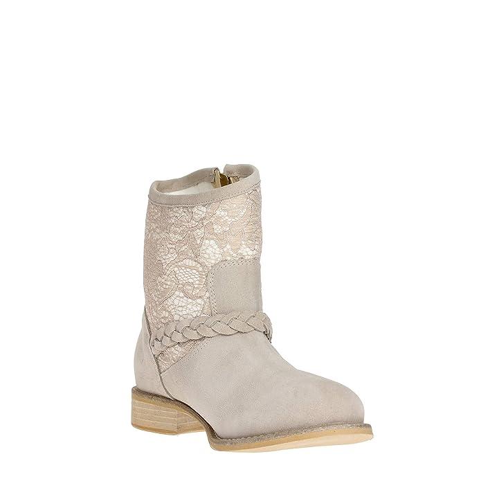 Andrea Morelli - Botas para mujer Beige Taupe 37: Amazon.es: Zapatos y complementos