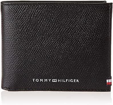 Tommy Hilfiger Business Mini CC Wallet, Productos de cuero pequeños para Hombre