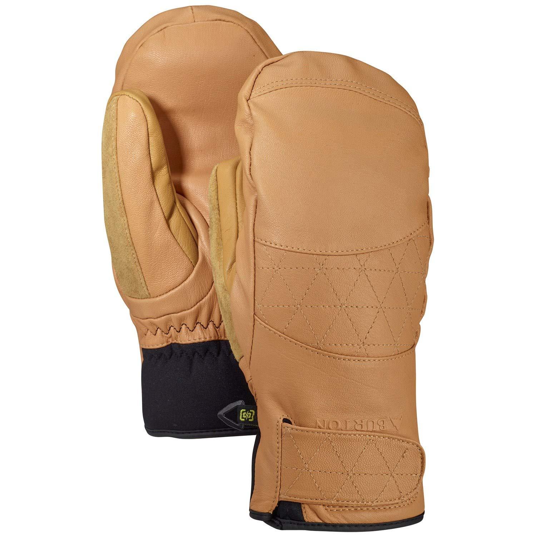 Burton Women's Gondy Gore-tex Leather Mitten, Camel, Medium