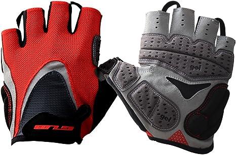 GUB Cycling MTB Road Bike Half Finger Gloves Antiskid Short Finger Sport Mittens