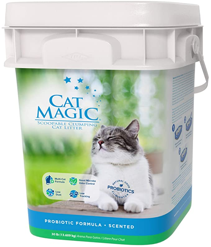 Amazon.com: Cat Magic Scented Clumping Clay Cat Litter, 16-Pound: Pet Supplies