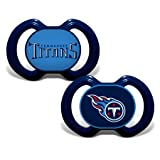Baby Fanatic 2 Piece Pacifier Set, Tennessee Titans