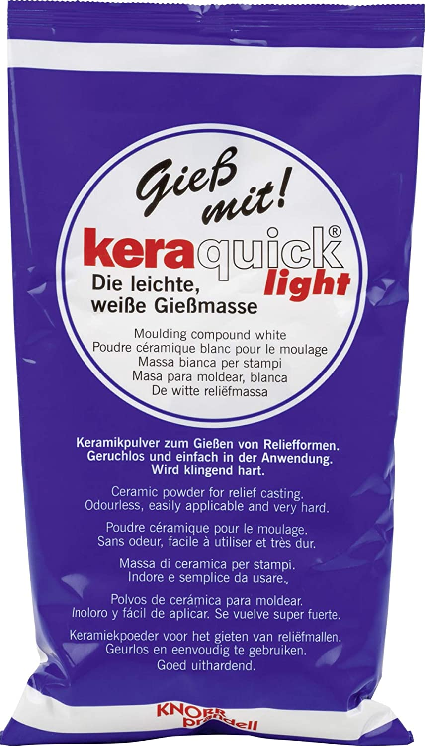 Knorr Prandell Keraquick Moulding Compound, Light White 212160500