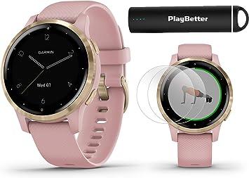 Garmin vivoactive 4 Smartwatch Power Bundle | Modelo 2019 | con ...