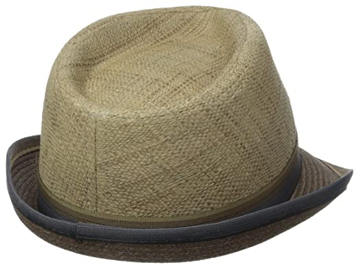 37d6a88d9c4 Scala Men's Matte Raffia and Braid Fedora at Amazon Men's Clothing store: