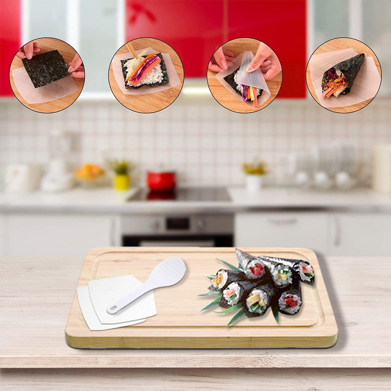 Stampo per Palline di Riso DIY Onigiri per Cucina Ristorante Gxhong Riso Stampo Onigiri 9 Pezzi Stampi per Sushi