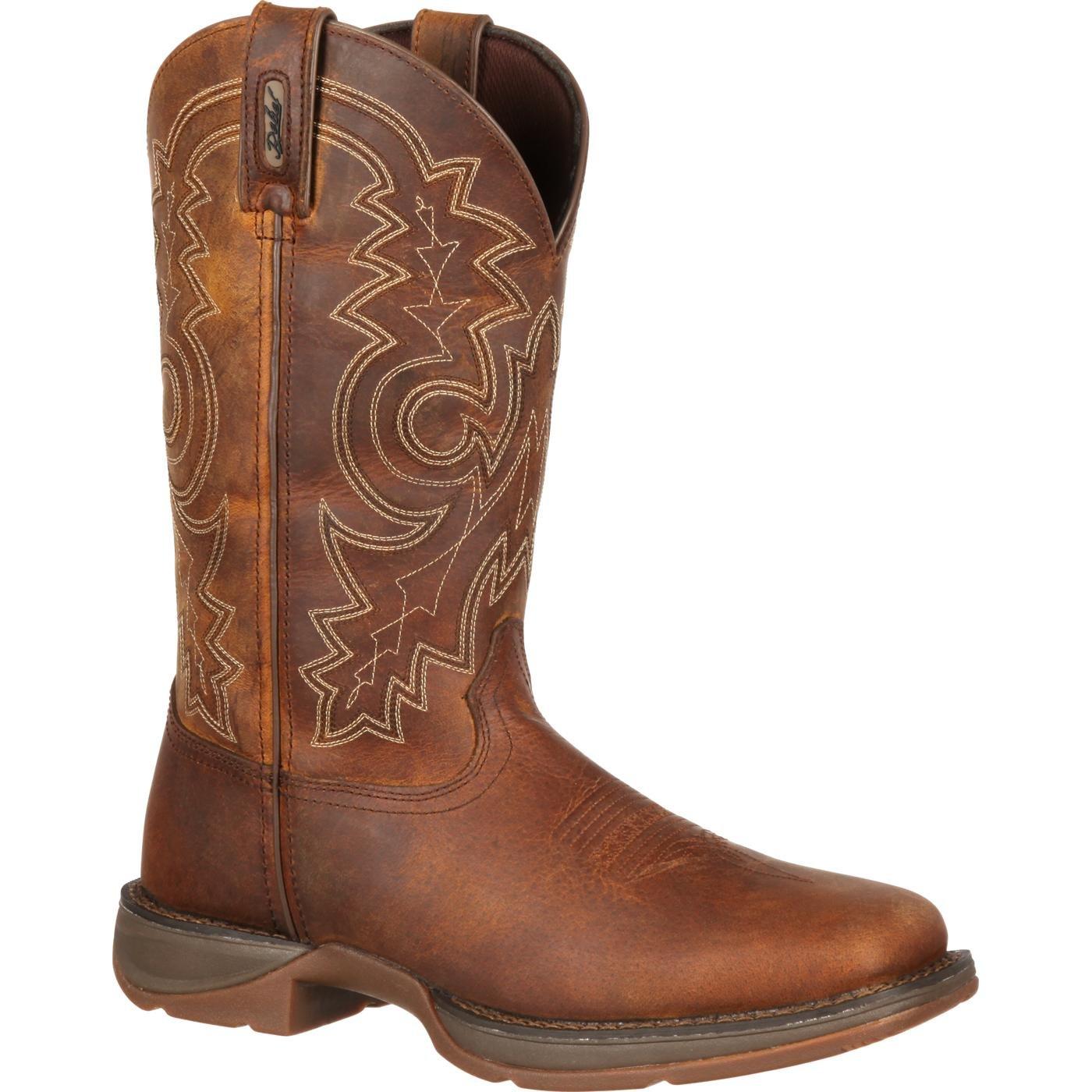 Durango Men's DB4443 Western Boot, Brown, 12 2E US