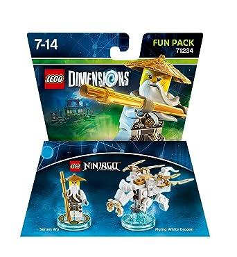 Amazon.com: LEGO Dimensions Sensei Wu Fun Pack Ninjago 71234 ...