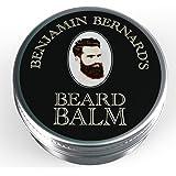 Benjamin Bernard Luxury Beard Balm For Men, balsamo barba Balsamo, pomata da barba - 100g Profumato.