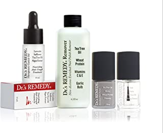 product image for Dr.'s REMEDY, Anti-Fungal START To FINISH Kit With TOTAL Two-In-One, REMEDY Remover, Therapeutic Cuticle Oil and KINETIC Khaki