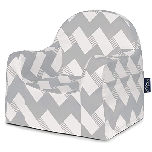 P Kolino PKFFLRGZ Children s Chair, Grey White