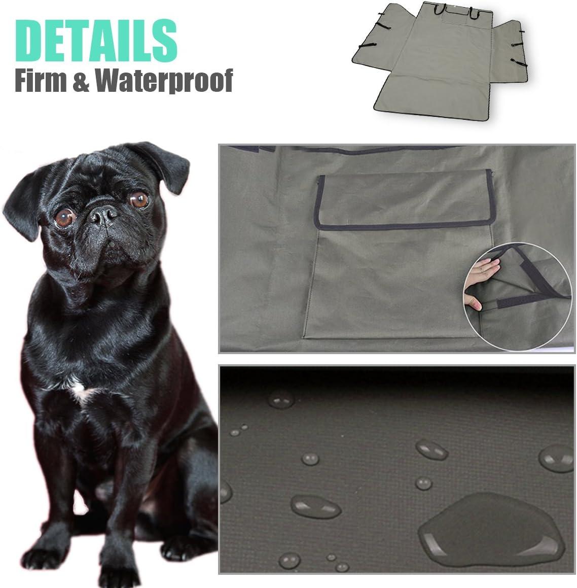 PETCUTE Funda Maletero Perros Protector Maletero Cubre Maletero para Perros Funda Coche Perro Protector Maletero de Coche para Perros