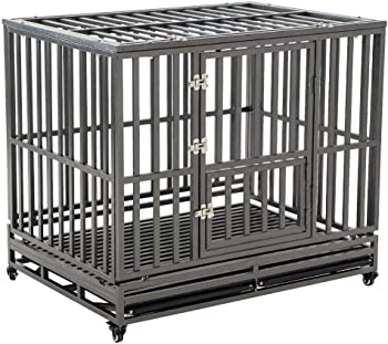 LUCKUP Escape Proof Dog Crate
