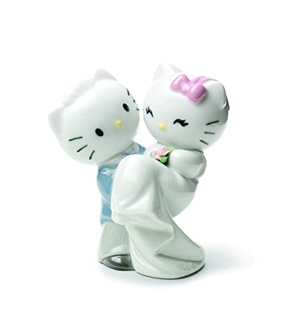 3717ca441 Amazon.com: Nao by Lladro #1662, Hello Kitty Gets Married: Home & Kitchen