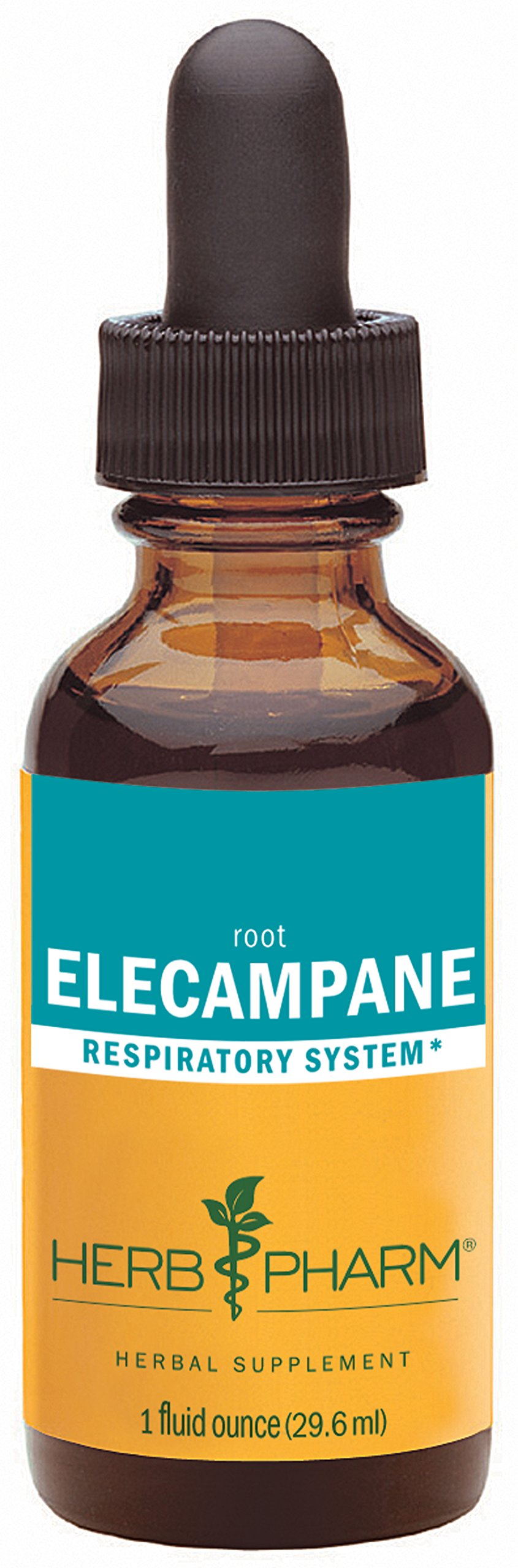 Herb Pharm Certified Organic Elecampane Extract for Respiratory System Support - 1 Ounce