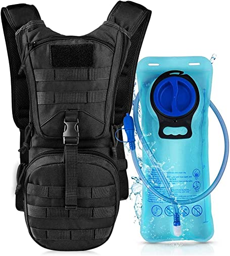 VBG VBIGER Hydration Pack with 3L Bladder Water Bag Great for Hunting Climbing Running and Hiking