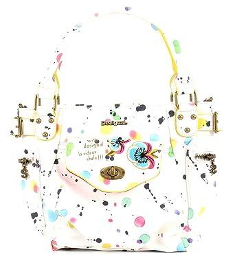 Bols Mini Mcbee Splatter Blanco Desigual rCnvToUZ