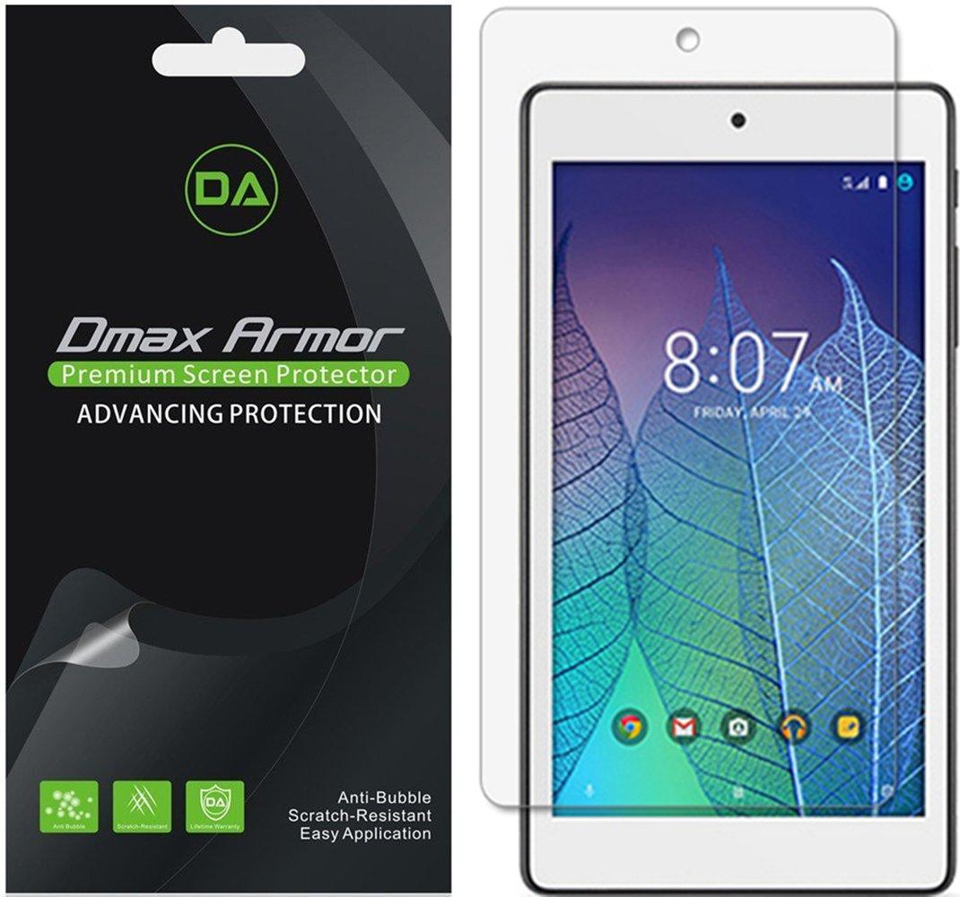 [ 3 - Pack ] DMAX Armor Alcatel OneTouch Pop 7 LTE ( T - Mobile )スクリーンプロテクター、アンチグレア指紋防止(マット) shield-生涯Replacements warranty-小売パッケージ   B01GISJ8IC