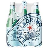 San Pellegrino Carbonated Natural Mineral Water, 6 x 1l