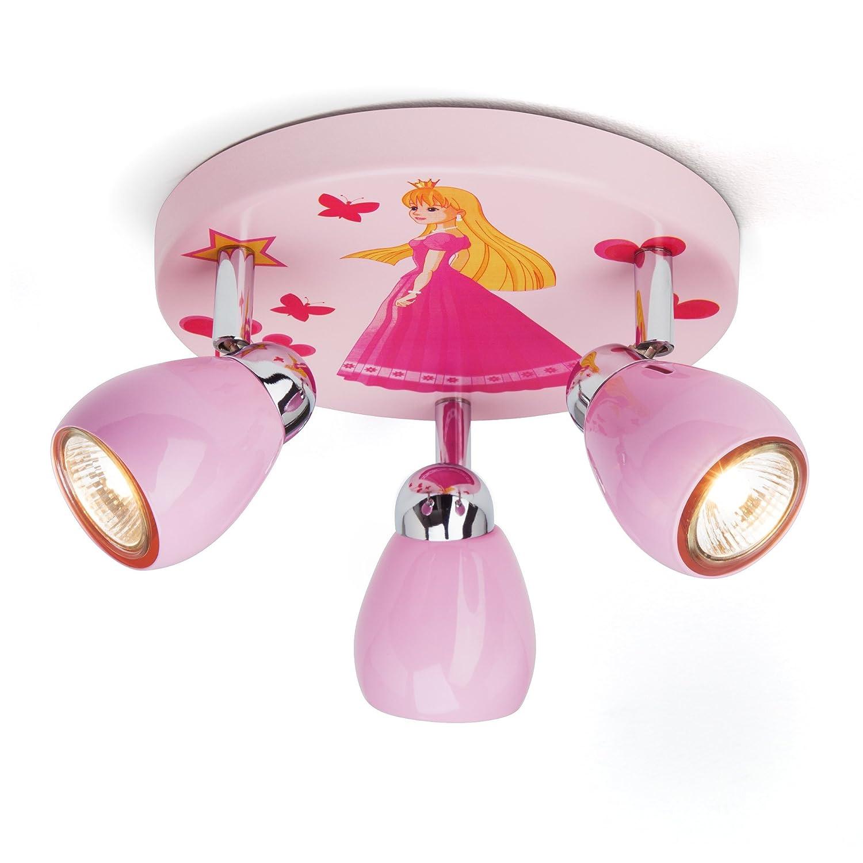 Princesa luz de techo con 3 puntos, Ø 31 cm, incl. Halógena ...