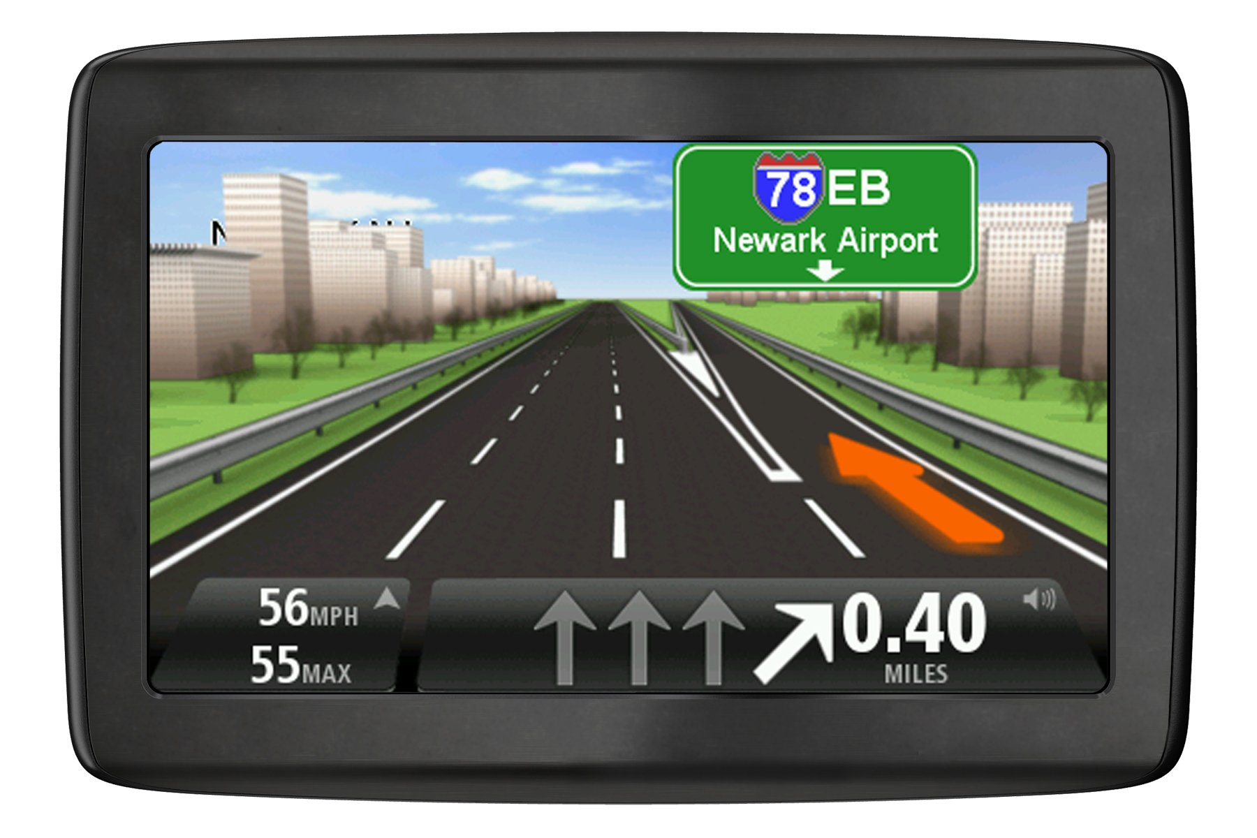 TomTom VIA 1405T 4.3-Inch Portable GPS Navigator with Lifetime Traffic (Discontinued by Manufacturer)