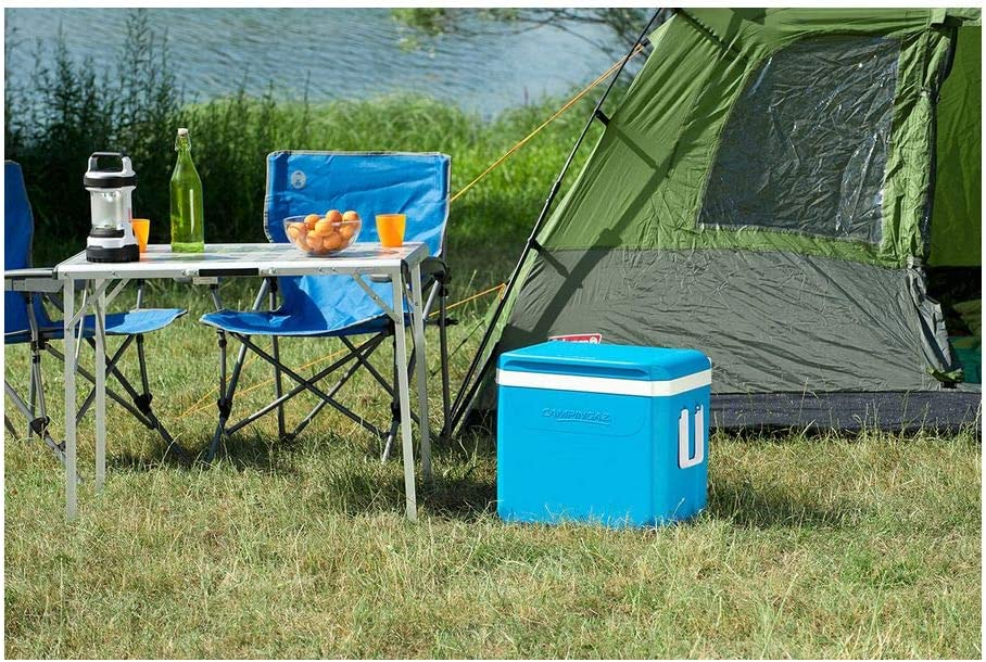 Campingaz Nevera Portatil Icetime Plus, Caja Térmica, Nevera para Camping, Playa y Picnic, 38 L