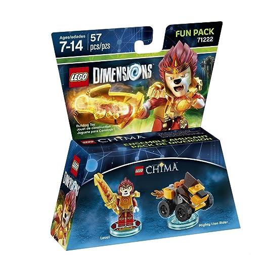 59 opinioni per Lego Dimensions Fun Pack- Chima: Laval
