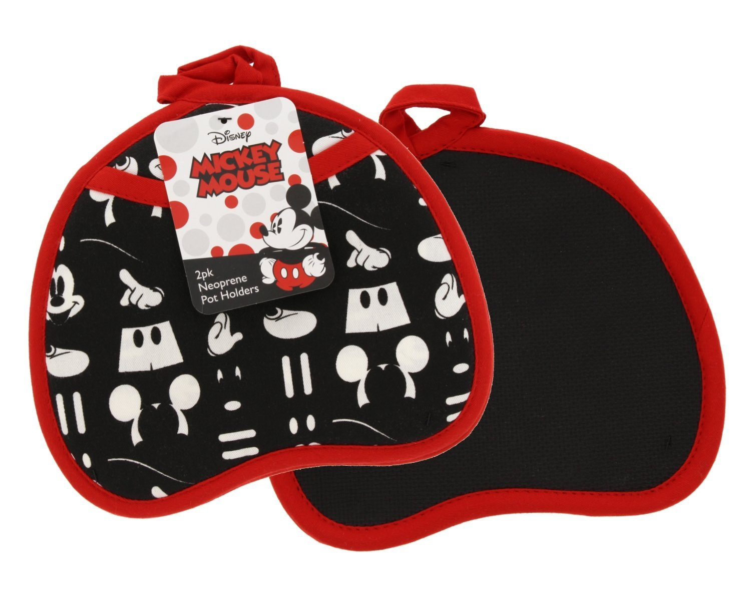 Best Brands Disney Cotton Apron - Minnie Mouse Glam Dots, Black -Keep Cute, Clean, and Comfortable During All Your Cooking Experiences
