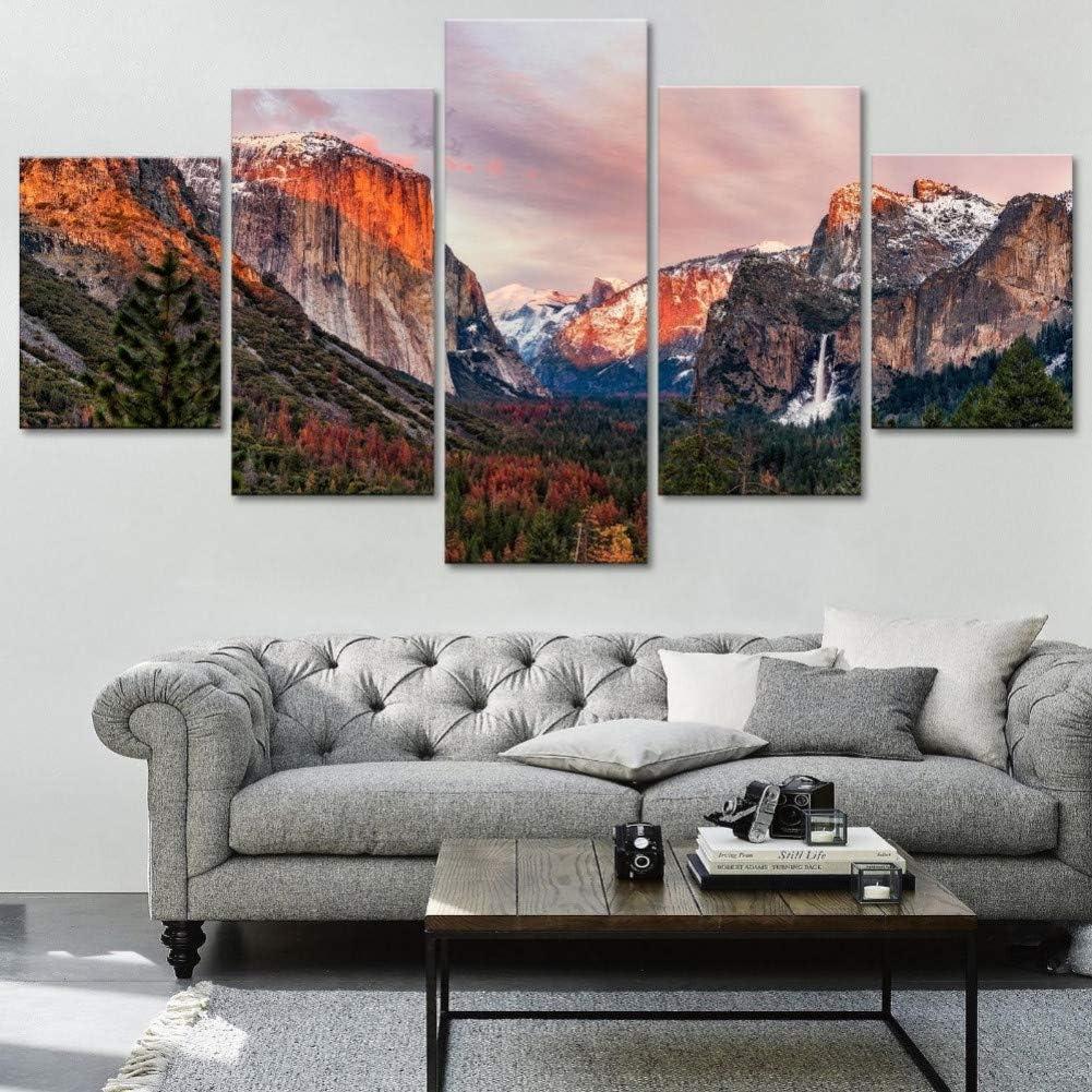 CANVAS El Capitan,Sunrise Yosemite National Park,California, Art print POSTER