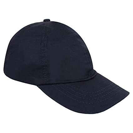 18ac8d0a Buy Zacharias Men's Cotton Cap (Navy) Online at Low Prices in India ...