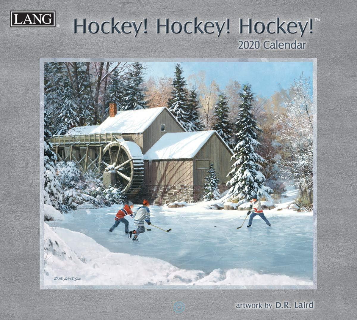 Lang Hockey Hockey Hockey 2020 Wall Calendar (20991001916)