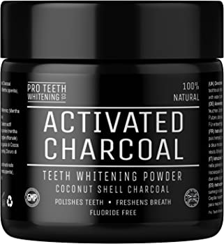 Pro Teeth Whitening Activated Charcoal Teeth Whitening Powder