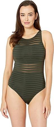 sale retailer customers first latest JETS SWIMWEAR AUSTRALIA Women's Parallels High Neck One ...