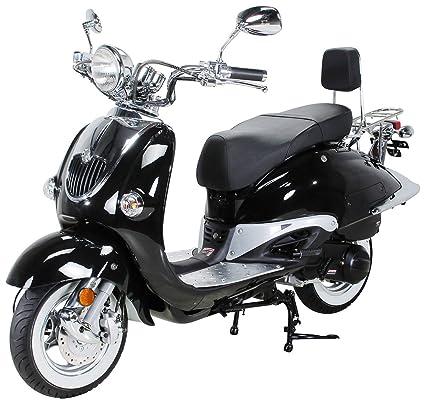 znen Retro Roller - Patinete Euro 4 125 cc zn125t de H ...