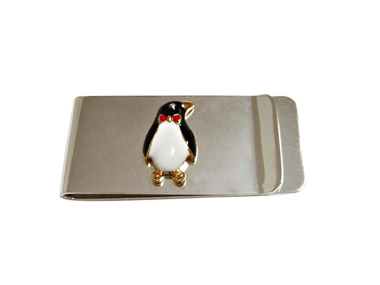 Colored Penguin Bird Money Clip