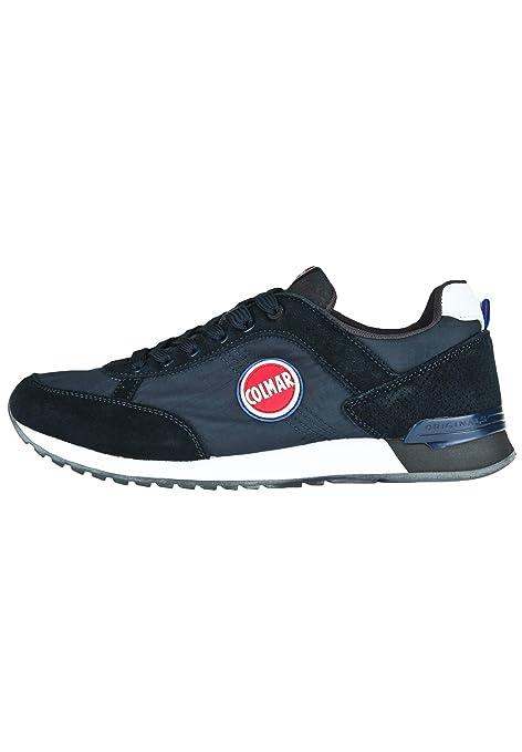 Colmar Travis Blue Gray Scarpe Uomo Sneakers Lacci Blu 41  MainApps ... a1157b790c4