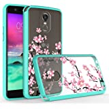 LG Stylo 3 Case, LG Stylo 3 Plus Case,Harryshell Anti-Scratch Shockproof Ultra Slim Clear Hard Cover Flexible TPU Bumper Case for LG Stylo 3 / LG Stylo 3 Plus (Flower)