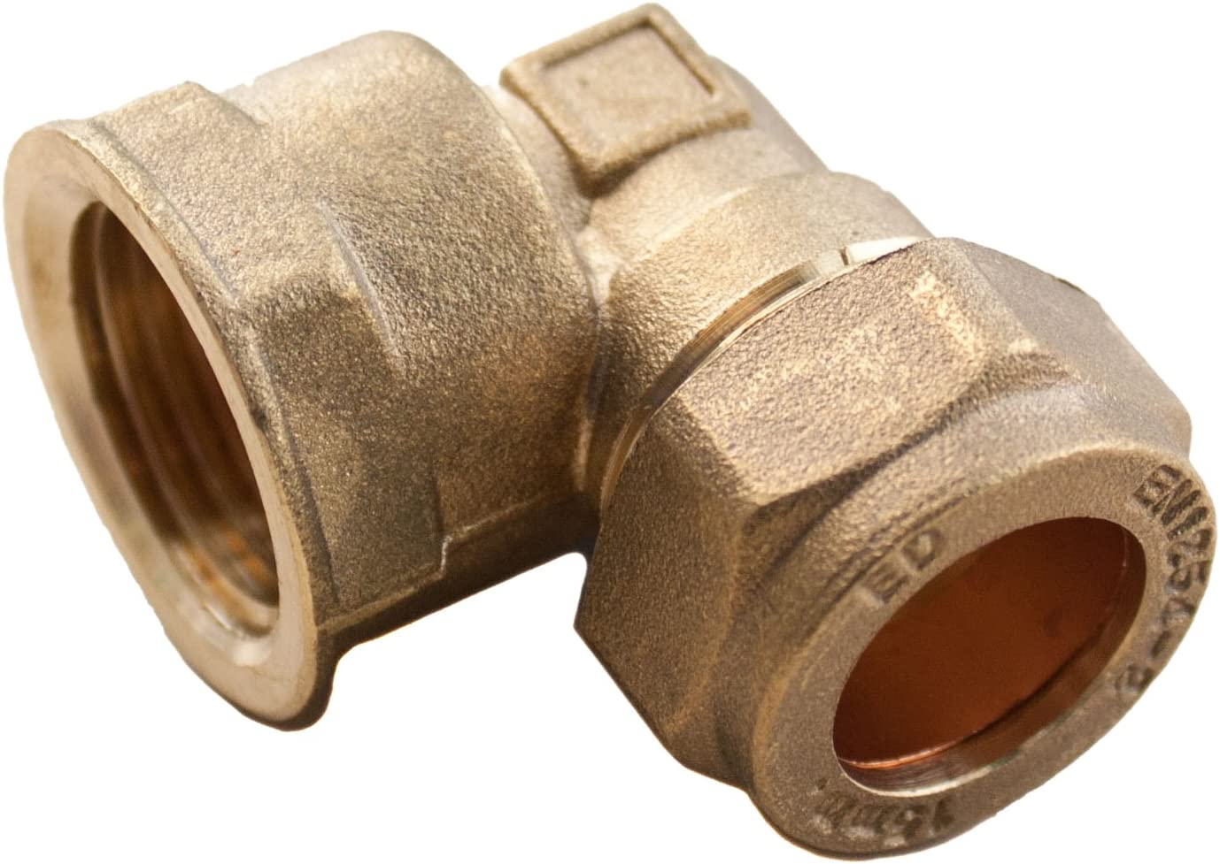 2 x New Compression Reducing Elbow Size 22 x 15mm Brass plumbing fittings