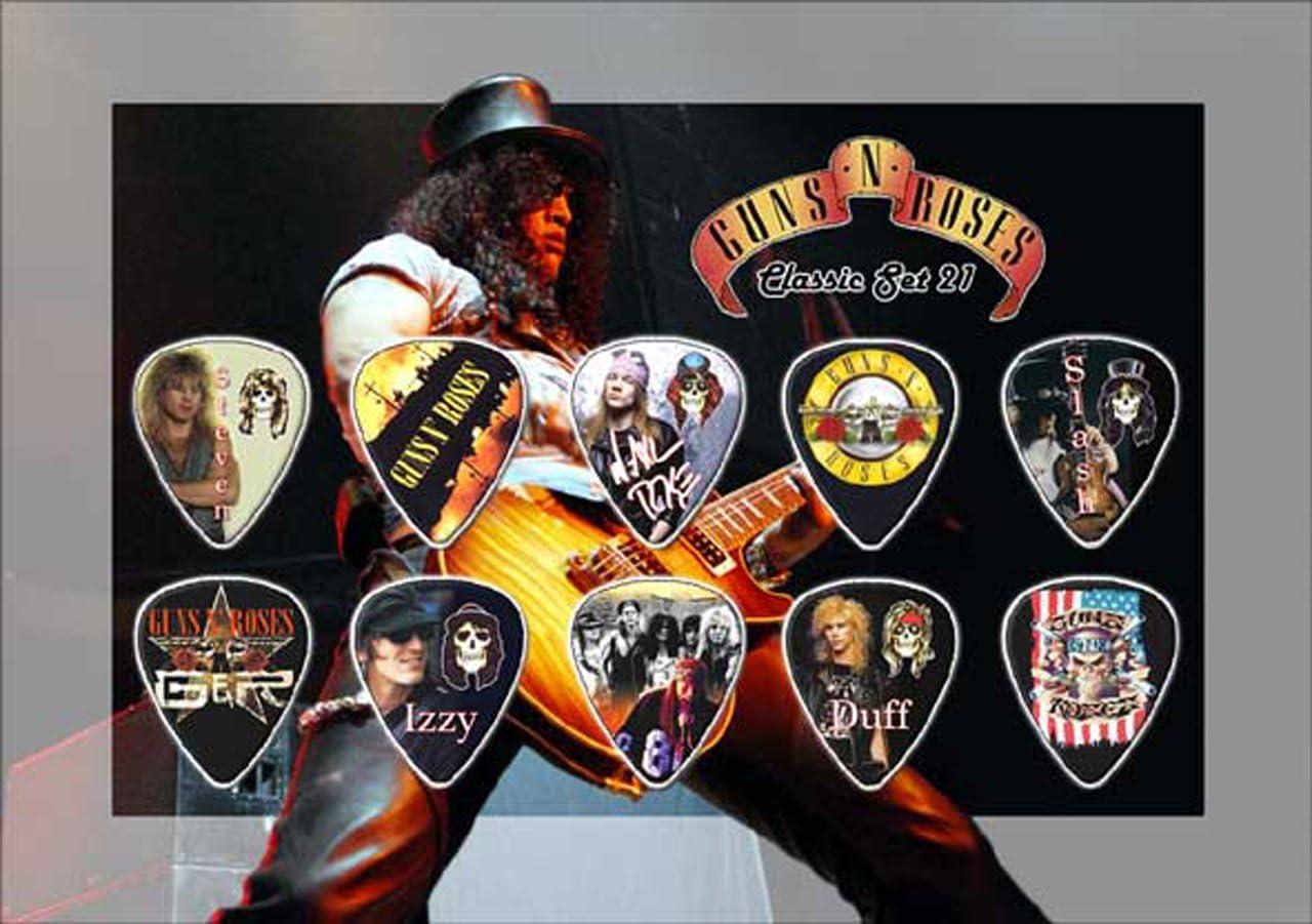 Classic Edition Guns N Roses Guitar M/édiator Pick Display