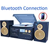 Boytone BT-28SPG 3-Speed Bluetooth Turntable System