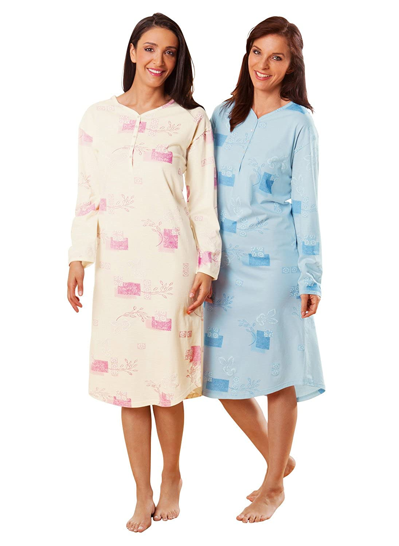 laritaM 2-pk nightshirts single-jersey