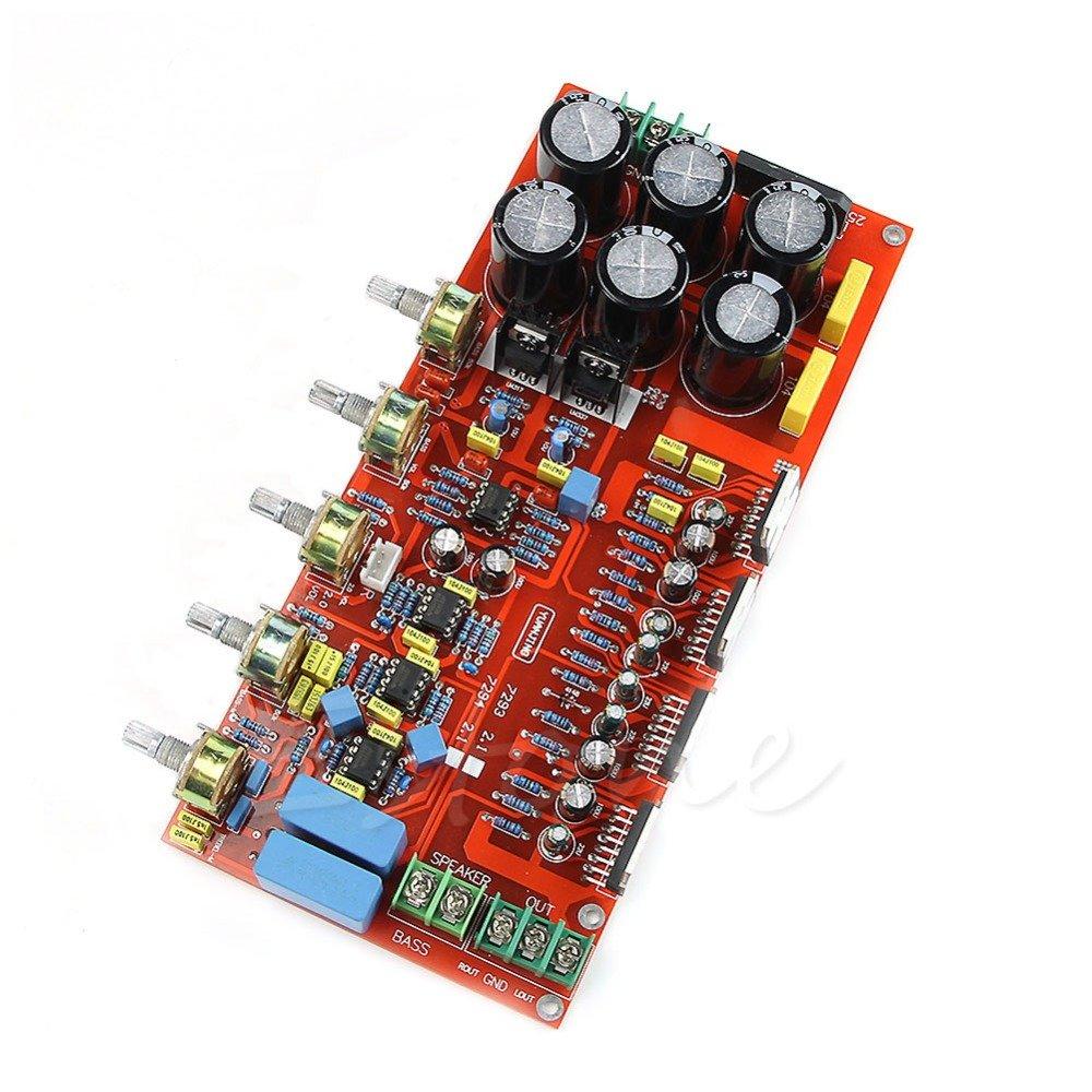 Generic Tda7294 Subwoofer Low Pass Filter 21 Amplifier Circuit Bass Amp Electronics