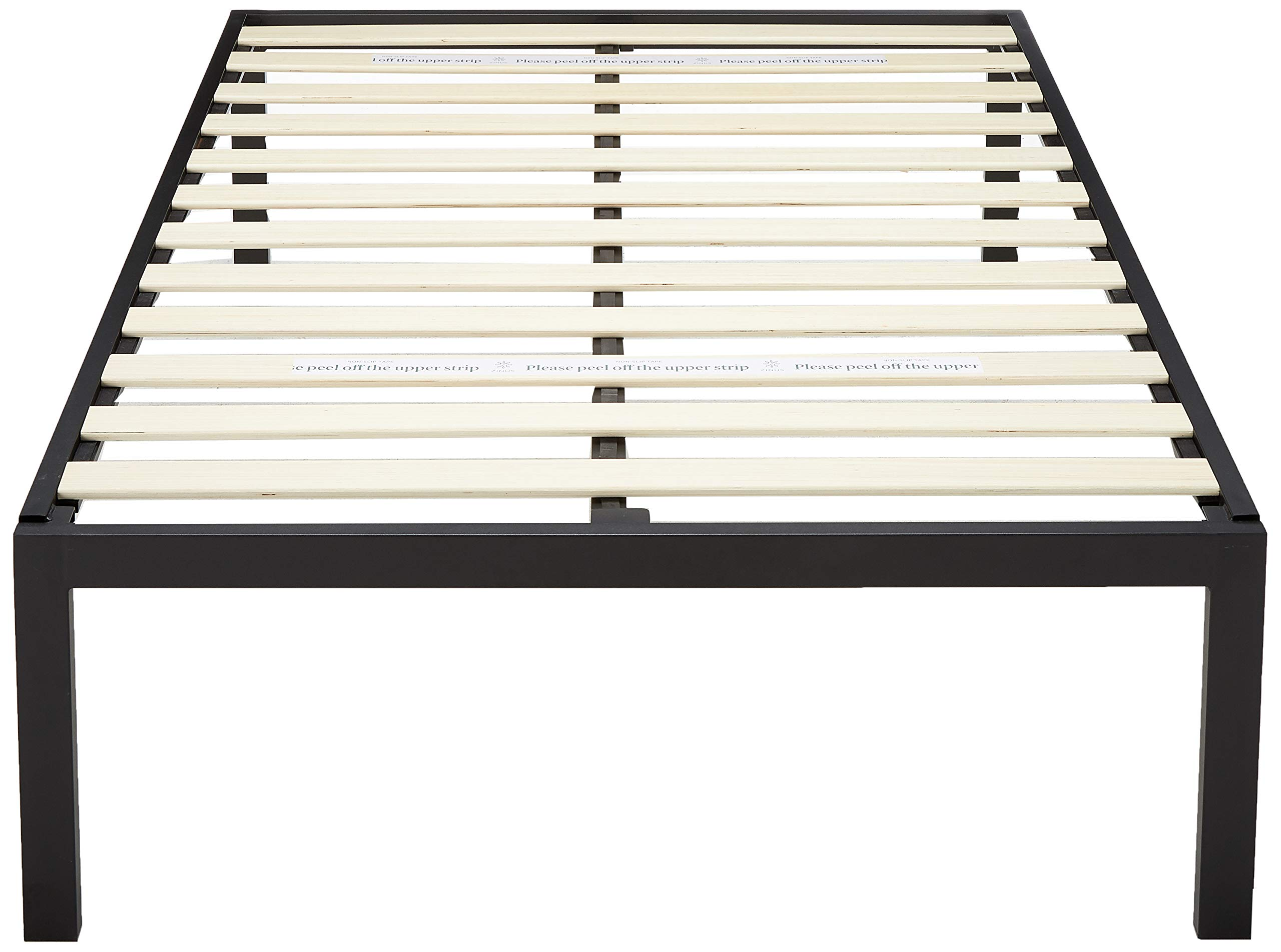 Zinus Lorrick Bed Frame, Twin, Black