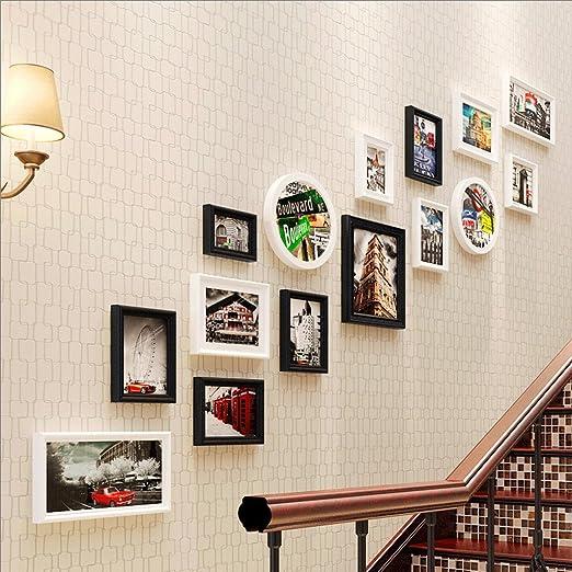 RXF Escalera Foto Pared Estudio Sala Entrada Pared 15 Cuadro (Color : 3#): Amazon.es: Hogar
